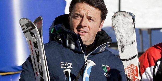 Italiens Premier flog mit Luftwaffe in Urlaub