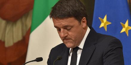 Italiens Premier Renzi zurückgetreten