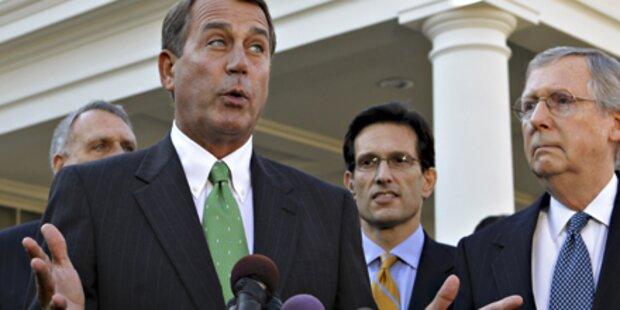 Republikaner wollen Gesundheitsreform stoppen