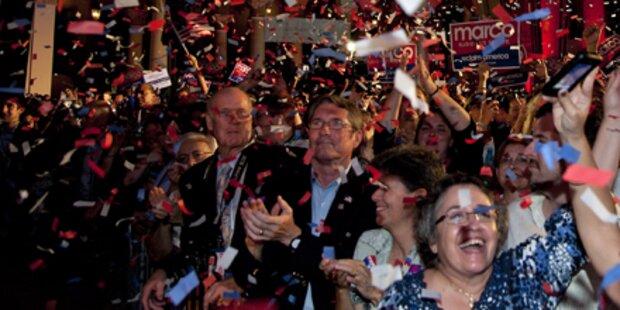 Opposition fährt größten Sieg seit 1948 ein