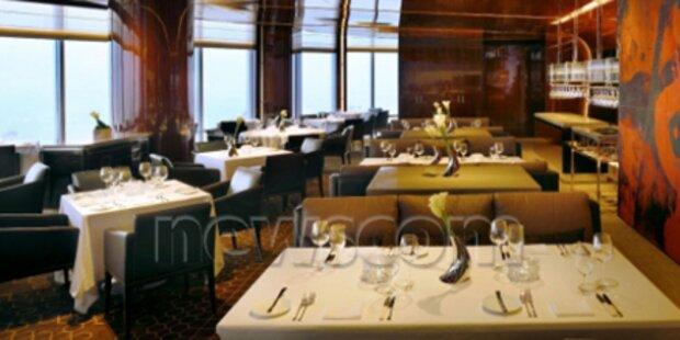 Höchstes Restaurant der Welt eröffnet