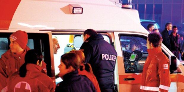 Frau beim Zipfelbobfahren schwer verletzt