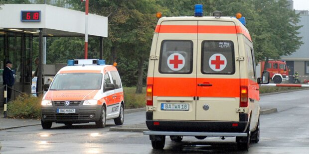 A9: Lkw kracht in Kolonne - fünf Verletzte