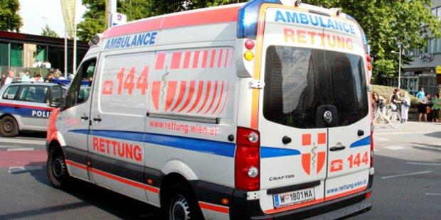 Aufzug stürzt ab - Zwei Arbeiter schwer verletzt