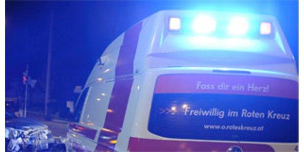 Crash mit vier Verletzten nahe Leibnitz