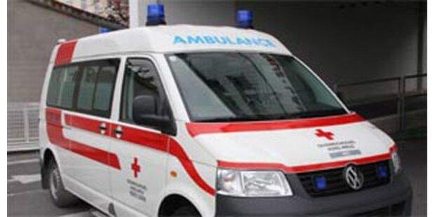 Vier Kinder bei Verkehrsunfall verletzt