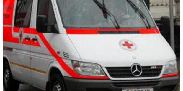 Sechs Verletzte bei Frontalkollision in Vorarlberg