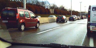 Rettungsgasse; Autobahn