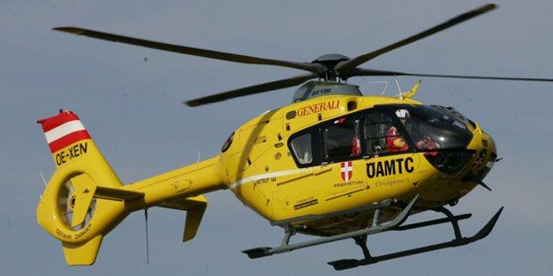 Schwerverletzter alarmiert die Rettung