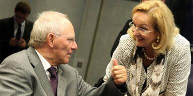 Wolfgang Schäuble; Maria Fekter