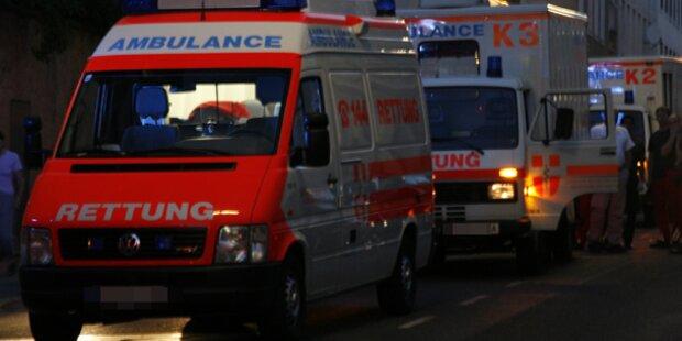 Laserpointer-Attacke auf Rettungswagen