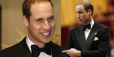 Prinz William: Solo bei Gala in London