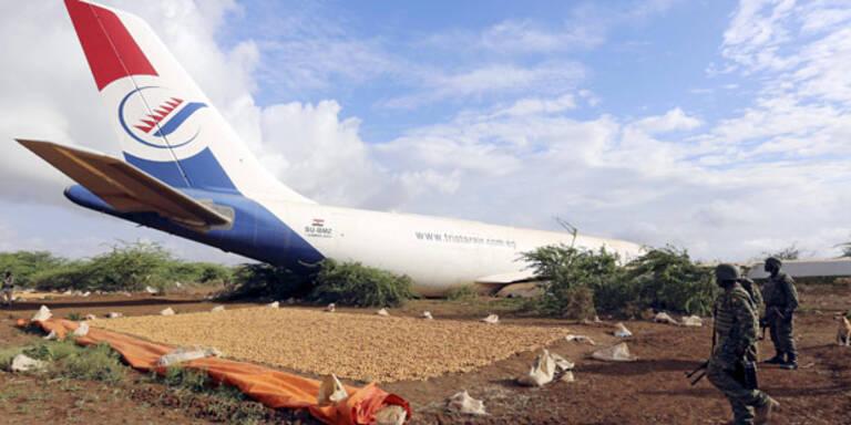 Sprit ging aus: Airbus landet auf der Straße