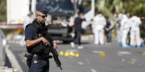 Nizza-Terror: Attentäter hatte Helfer