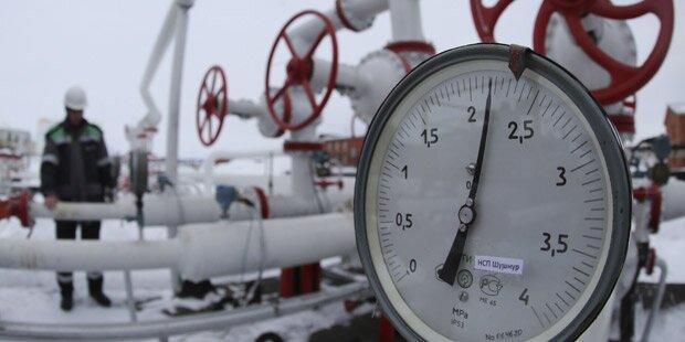 Moskau sagt Kiew Gas bis Ende März zu