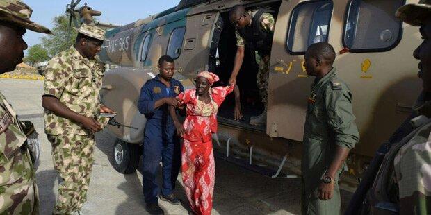 Nigeria: Militär befreit 96 Geiseln