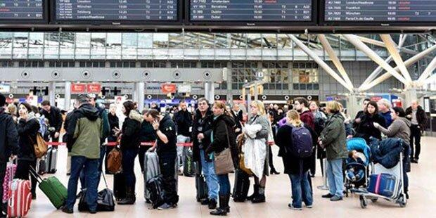Schon wieder Reizgas-Alarm am Flughafen