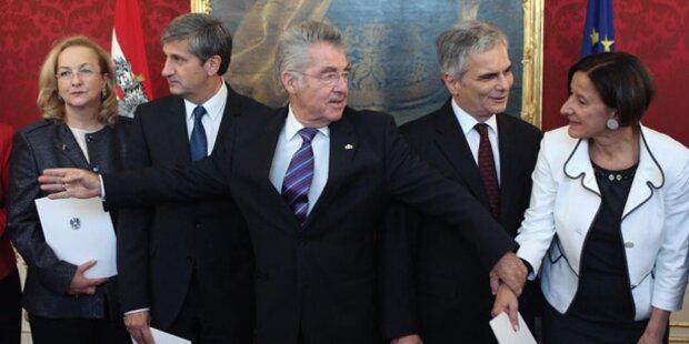 Wen die Österreicher in der Regierung wollen
