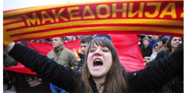 NATO setzt Mazedonien Frist im Namensstreit