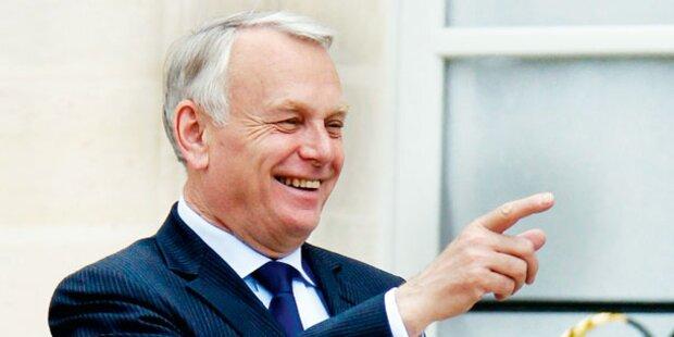 Schieder trifft in Paris neuen Premierminister