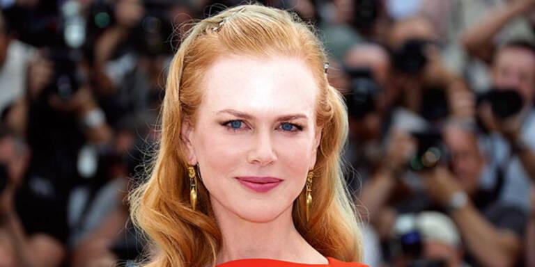 Nicole Kidman ist in Wien unterwegs