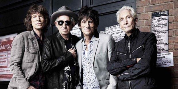 Rolling Stones: Vier Konzerte fix
