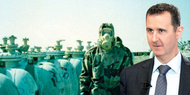 So wird Syriens Giftgas vernichtet