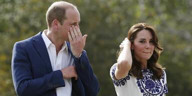 Prinz William: Tränen beim Taj Mahal