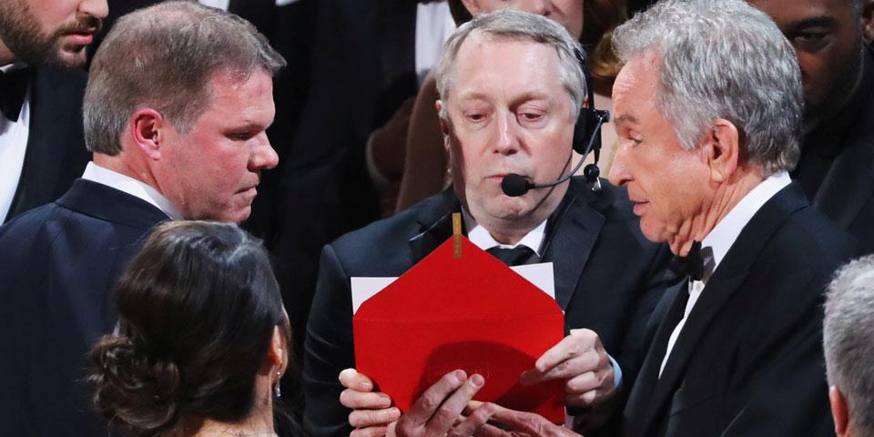 Oscar-Panne: Brian Cullinan Warren Beatty