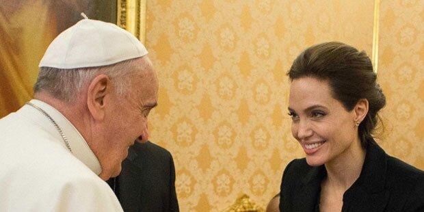 Jolie: Mit neuem Film beim Papst