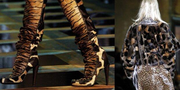 Roberto Cavallis bunte Mailand-Show