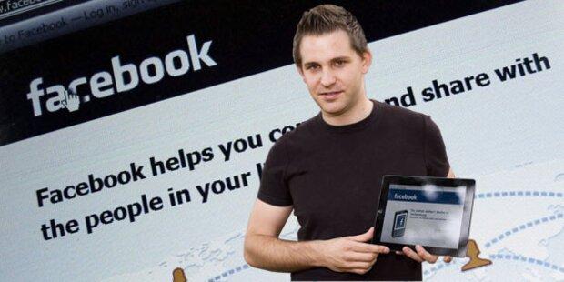Facebook-Treffen mit Wiener Studenten