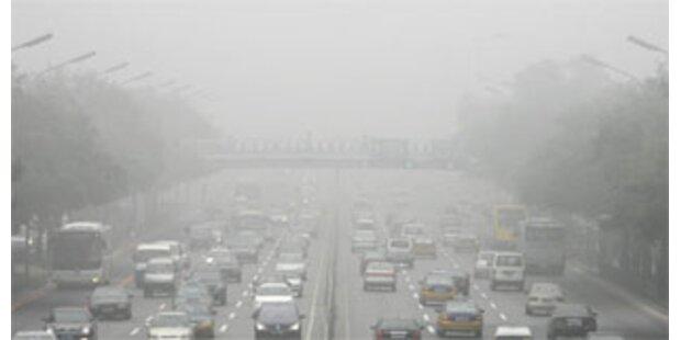 Dunstglocke über Peking