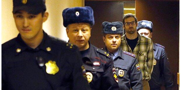 U-Haft für Greenpeace Aktivisten verlängert