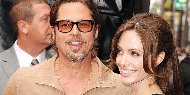 Angelina Jolie und Brad Pitt sagen Ja!