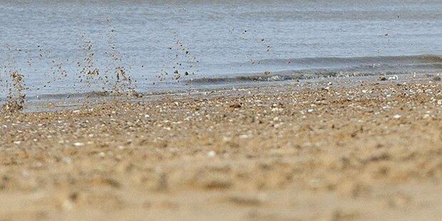 Teenager erstickt beinahe unter Sandburg