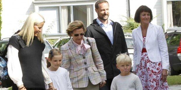 Prinz Sverre Magnus: Sein erster Schultag