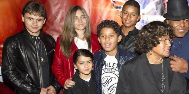 Jackson-Kids verfolgen Prozess nicht