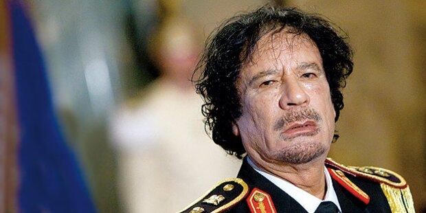So wild trieb es Muammar Gaddafi