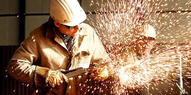 Stahl Metall Schweißarbeiten Wirtschaft
