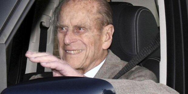 Britischer Prinz Philip aus Klinik entlassen