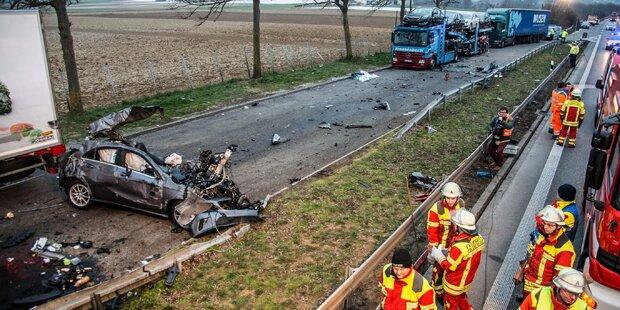 3 Tote bei Crash nach Polizeiverfolgung