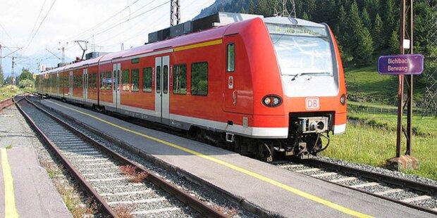 Kupferdiebe legen Außerfern-Bahn lahm