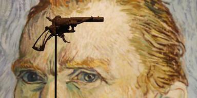 Mit diesem Revolver soll sich Van Gogh erschossen haben