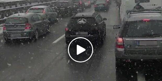 Wut-Video: Lkw-Lenker landet nächsten Hit