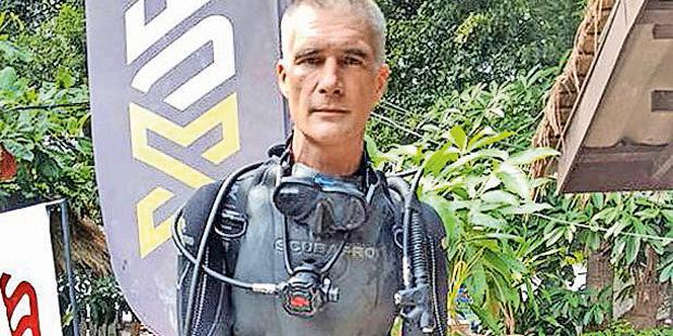 Richard Harris Taucher Thailand Höhle