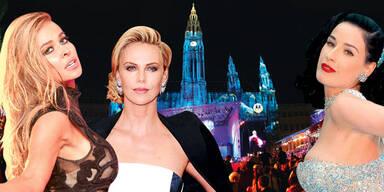 Life Ball: Carmen Electra, Charlize Theron, Dita von Teese