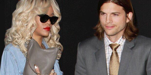 Rihanna & Ashton: Es läuft seit Wochen