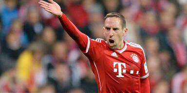 Bayern hoffen auf Ribery in alter Form