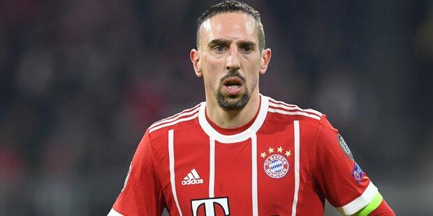Neues Hammer-Gerücht um Franck Ribéry